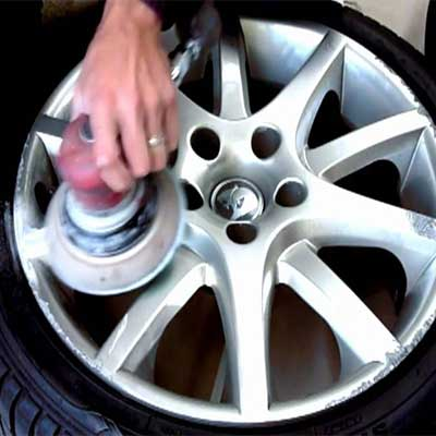 Alloy Wheel Refurbishment Swansea wheel repair image