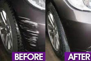minor bumper scuff repair